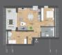 3-Zimmer Neubauwohnung. Einziehen & Wohlfühlen. - Grundriss