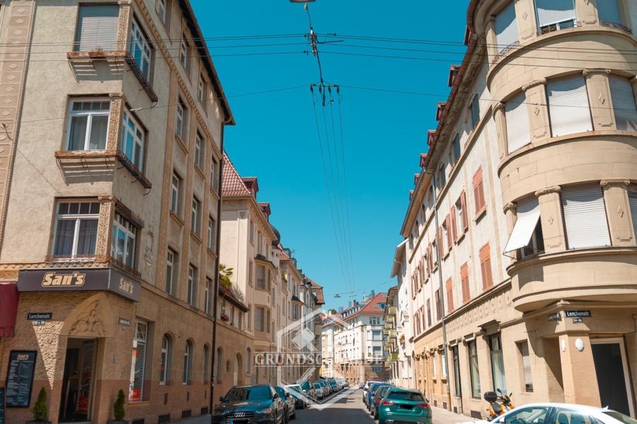 3-Zi. Whg mit Balkon mitten im Kultviertel Stuttgart-West, 70176 Stuttgart, Apartment