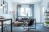 Geniale 3-Zi. WHG mit Garage, 2 Balkone - Provisionsfrei - Wohnzimmer