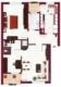 Geniale 3-Zi. WHG mit Garage, 2 Balkone - Provisionsfrei - Grundriss 2. OG