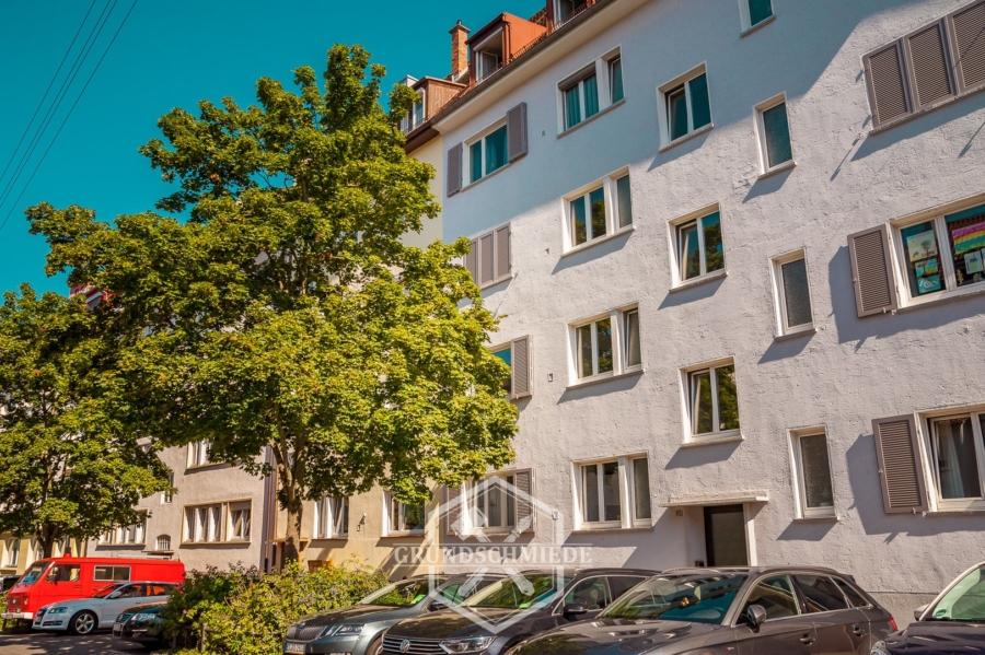 1-Zi. WHG mit Terrasse in Stuttgart-West, 70193 Stuttgart, Erdgeschosswohnung