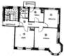Renovierte 3-Zimmer Wohnung mit Balkon - Grundriss