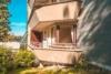 Einzigartige 2,5 Zimmer Wohnung mit eigenem Gartenanteil - Außenansicht Balkon