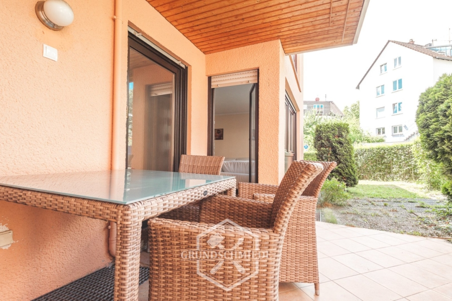 Super geschnittene 4 Zimmer Wohnung mit Terrasse, 73733 Esslingen, Erdgeschosswohnung