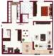 Schöne 3 Zimmer Wohnung mit Balkon - Grundriss