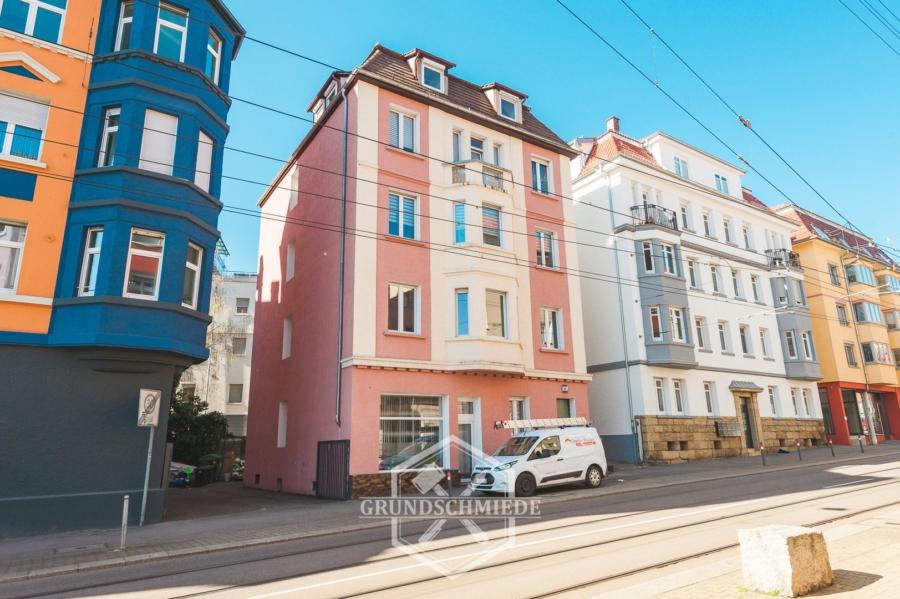 Gut aufgeteilte 4 Zimmer Wohnung in Stuttgart-Ost, 70188 Stuttgart, Etagenwohnung