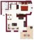 Tolle 2-Zi. Wohnung in Reutlingen - Grundriss