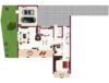 Doppelhaushälfte mit 3 Wohnungen - Nähe Freibad! - Erdgeschoss
