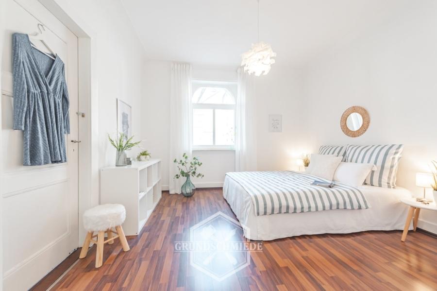 Provisionsfrei – Stilvolle 2-Zimmer Wohnung in Stuttgart-Ost, 70186 Stuttgart, Erdgeschosswohnung