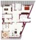 Außergewöhnliche 4,5 Zimmer-Maisonette-Wohnung mit Balkon im Grünen - Grundriss untere Ebene