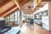 Außergewöhnliche 4,5 Zimmer-Maisonette-Wohnung mit Balkon im Grünen - Esszimmer