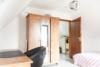 4,5-Zi. Wohnung im Zentrum von Feuerbach - möbliert - Schlafzimmer