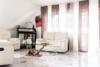 4,5-Zi. Wohnung im Zentrum von Feuerbach - möbliert - Wohnzimmer