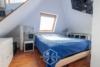 Tolle Maisonette-Wohnung direkt am Stadtpark-Zuffenhausen - Schlafzimmer