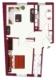 Sanierte 2-Zimmer-Wohnung direkt am Bihlplatz - Grundriss